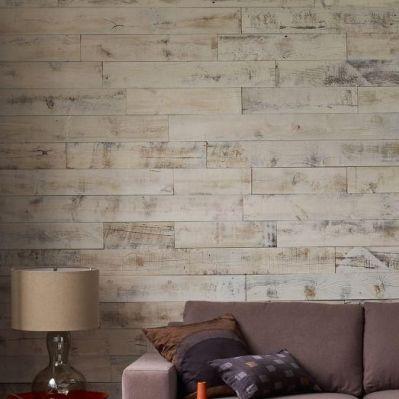 Wallpaper that looks like wood paneling! | Room Re-do | Pinterest