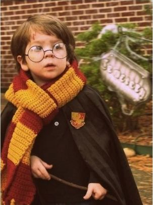 Harry Potter Costume- so cute! #literary #costumes #halloween