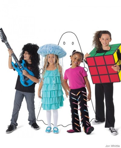 35+ Easy Homemade Halloween Costumes for Kids