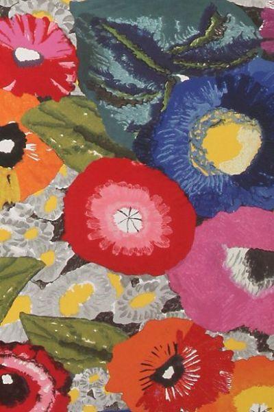 Anthropologie wallpaper pattern. | DIY & Patterns | Pinterest