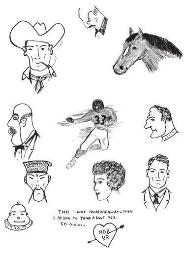 Ronald Reagan Doodle