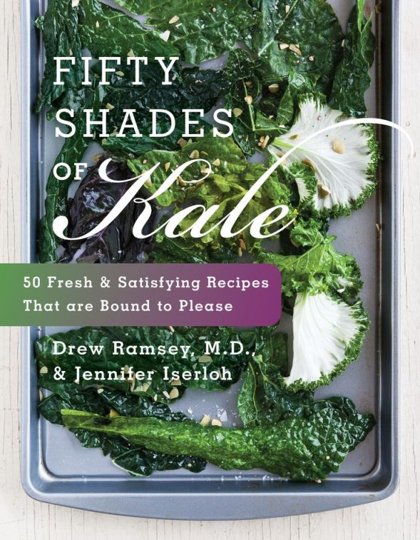 Check out some healthy recipes in the new FIFTY SHADES OF KALE cookbook! Available now wherever books are sold.