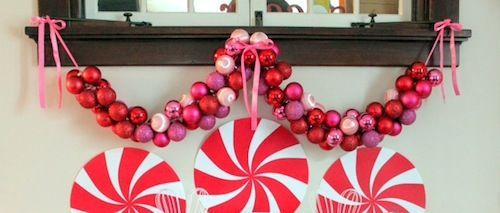 tuTORIal: DIY Ornament Garland