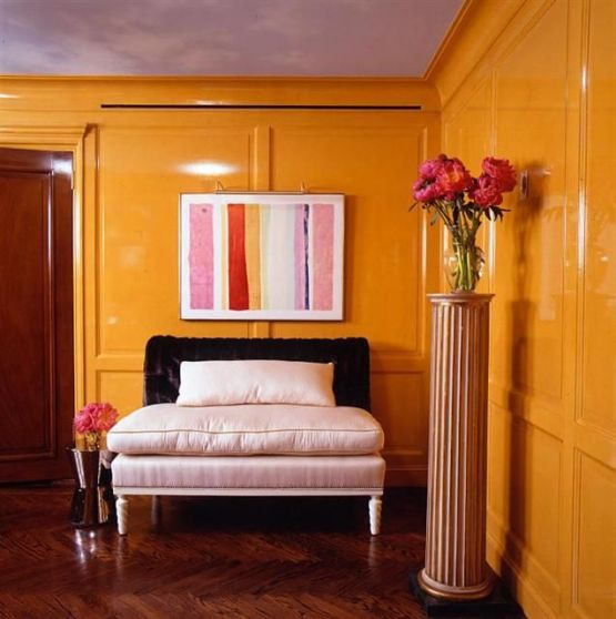 Glossy Walls... yay or nay?  |  Mrs. Fancee
