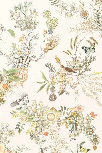 Anthropologie - Topsy-Turvy Wallpaper | For the Home | Pinterest