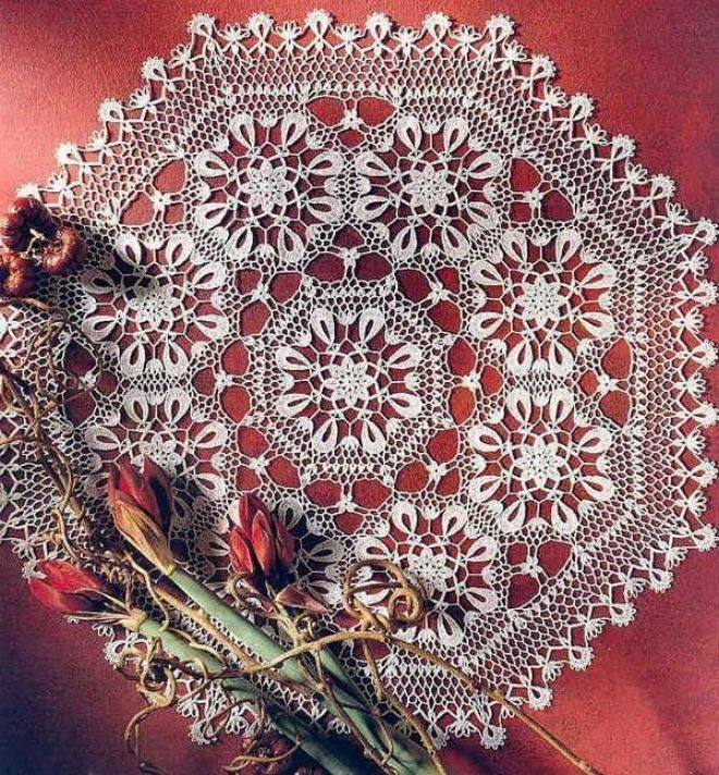 Crochet Art: Crochet Doily Pattern - Beautiful