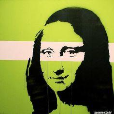 Banksy,  Mona Lisa