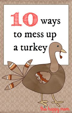 10 ways to mess up a