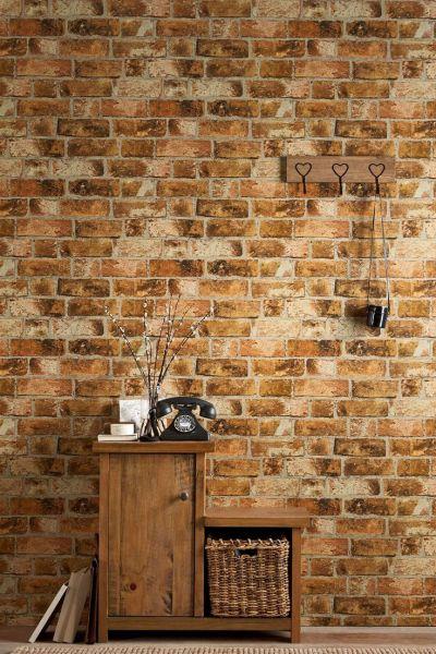 Next brick wallpaper   Paper Walls   Pinterest