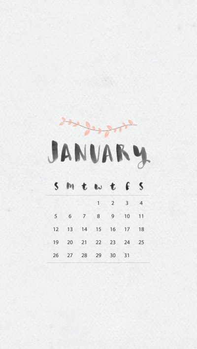 January iphone Wallpaper | Pretty Tech | Pinterest