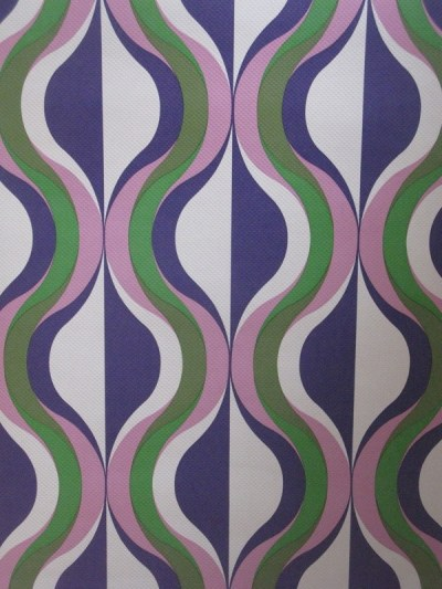 Vintage 60s Marimekko Era Wallpaper Retro 1 Metre