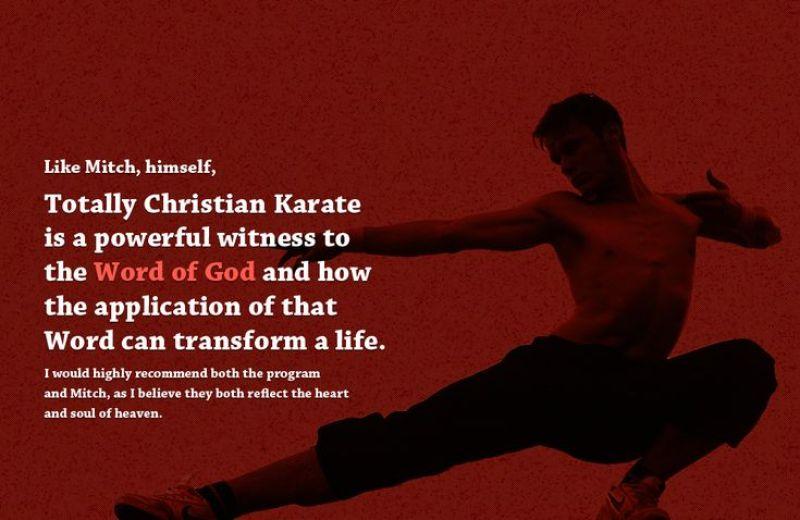 Totally Christian Karate Online School Video & Live 2-way WebcastMitch Freistat's MMA