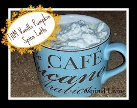 Aspired Living: Trim Healthy Mama Menu Plan: Vanilla Pumpkin Spice Latte (FP)