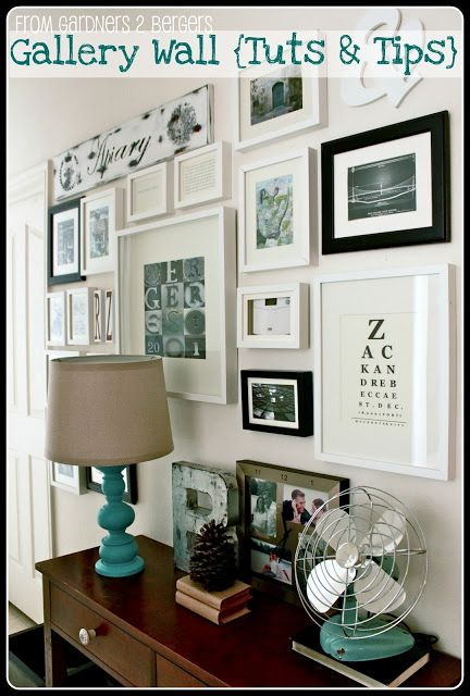 from GARDNERS 2 BERGERS: ✥ Gallery Wall + Tutes & Tips ✥