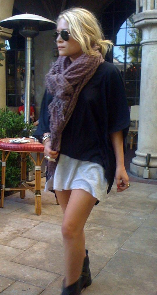 Olsens Anonymous Mk Mary Kate Olsen Style Fashion Blog Low