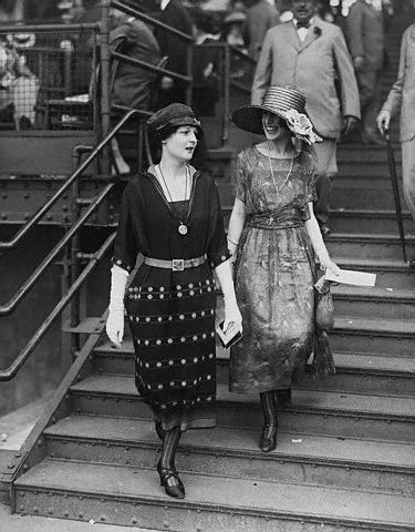 Two women, 1920s