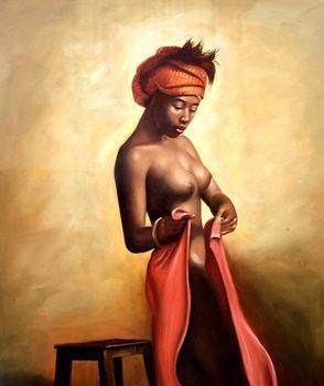african queen art