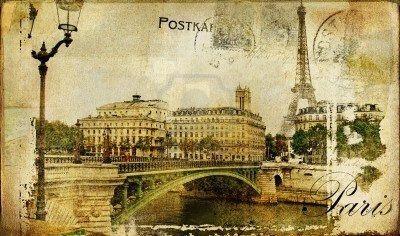 Vintage Paris Postcards   Antique Postcards & Postcards   Pinterest
