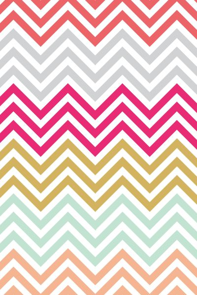 Colorful chevron iphone wallpaper | iPhone wallpaper | Pinterest