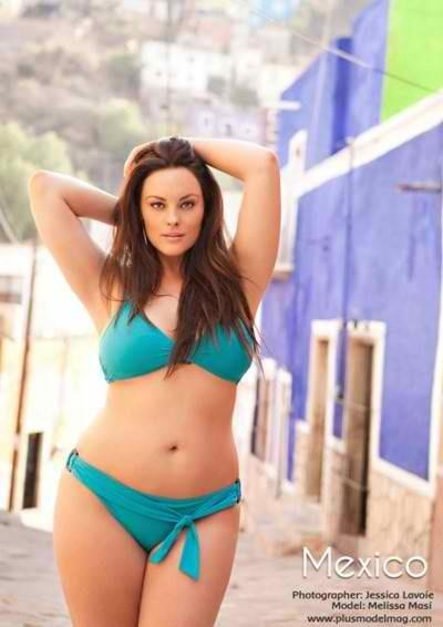 Model Melissa Masi- plus size model    She is fantastic!