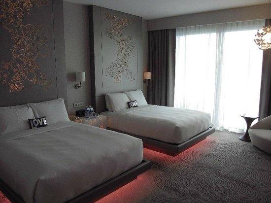 TripAdvisor W Singapore Sentosa Cove FABULOUS Room Double Beds