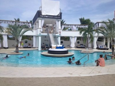 VIP Pool - The party Spot at night! - Picture of The ...