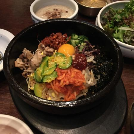 korean food - dalsotbibimbap