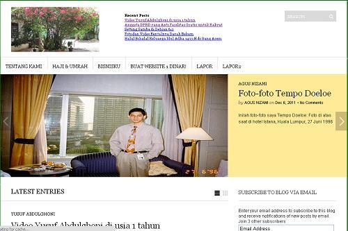 Website Agus Nizami
