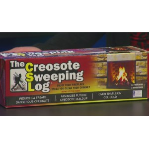 Horrible Aid Fireplace Safety Whtm Creosote Sweeping Log Target Creosote Sweeping Log Tractor Supply