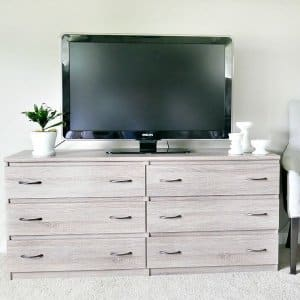 5 Tips on How to Decorate a Dresser Top   Angie s List dresser with drawer pulls