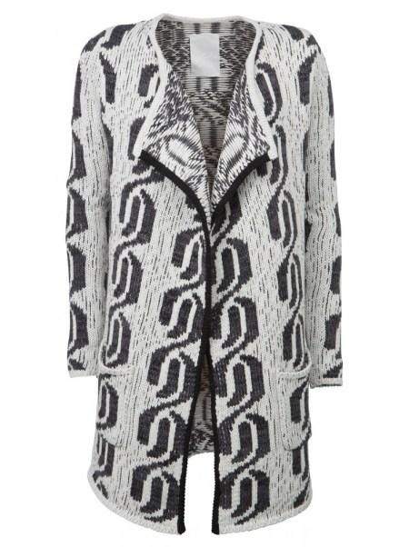 YAYA-kimono-jacquard-cardigan-front