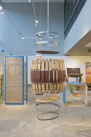 """The Museum of Design Atlanta (MODA) debuted at a Sept. 14 event the exhibition """"Barrique: Wine, Design, and Social Change."""""""
