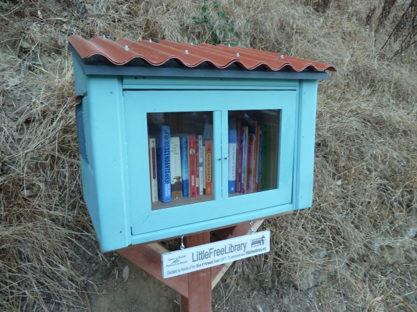 Little Free Library #2646 is ready for reading!