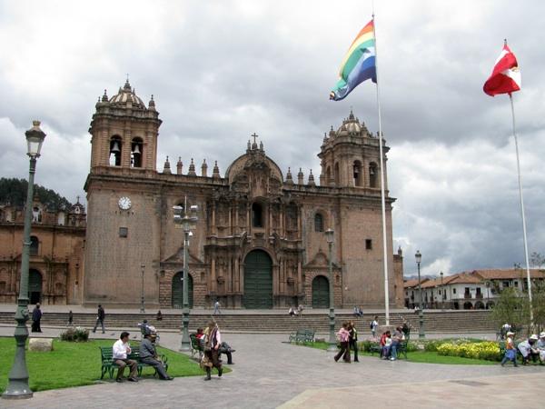 Catedralwithflag