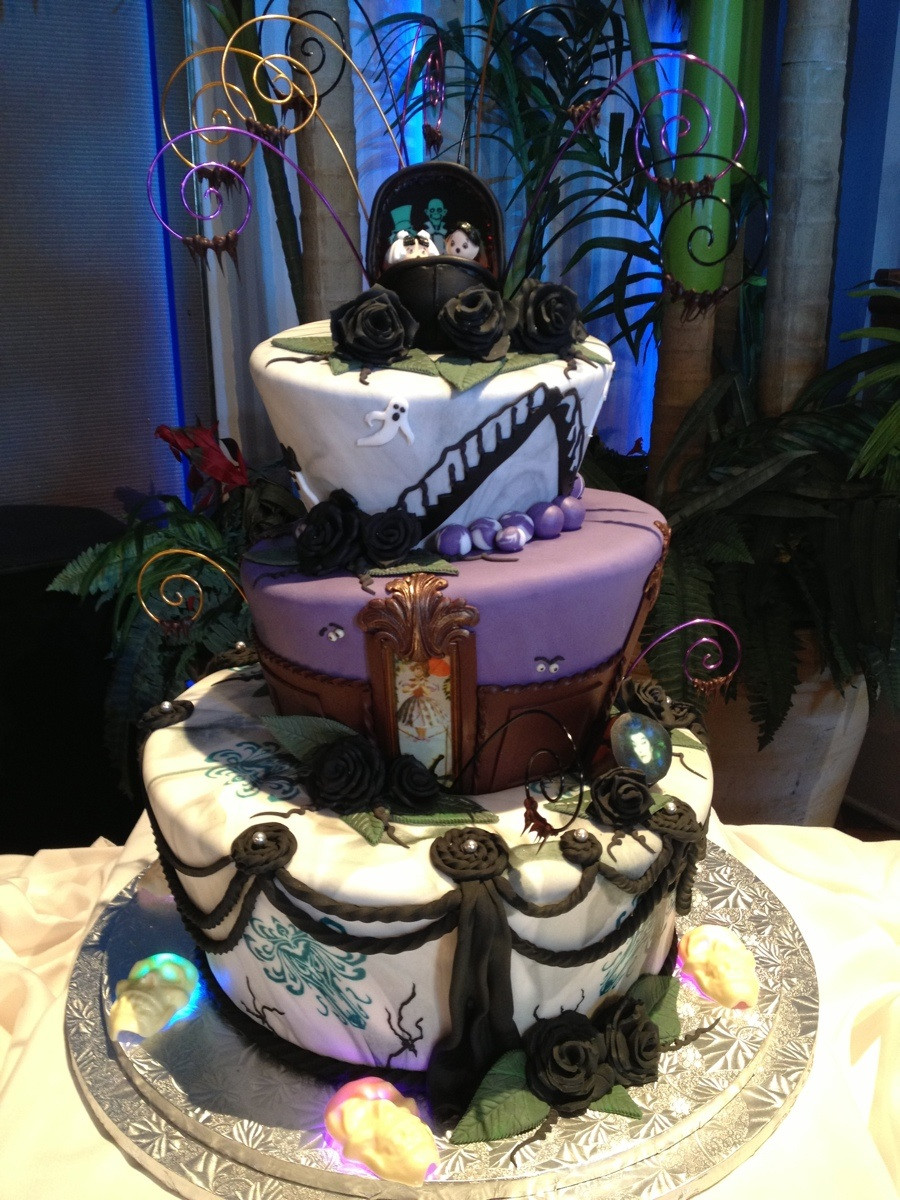 haunted mansion wedding cake harley quinn wedding ring