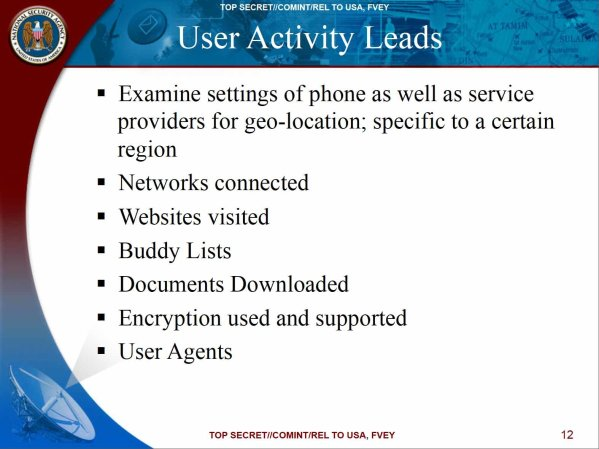 NSA slide from May 2010 meeting, via New York Times.