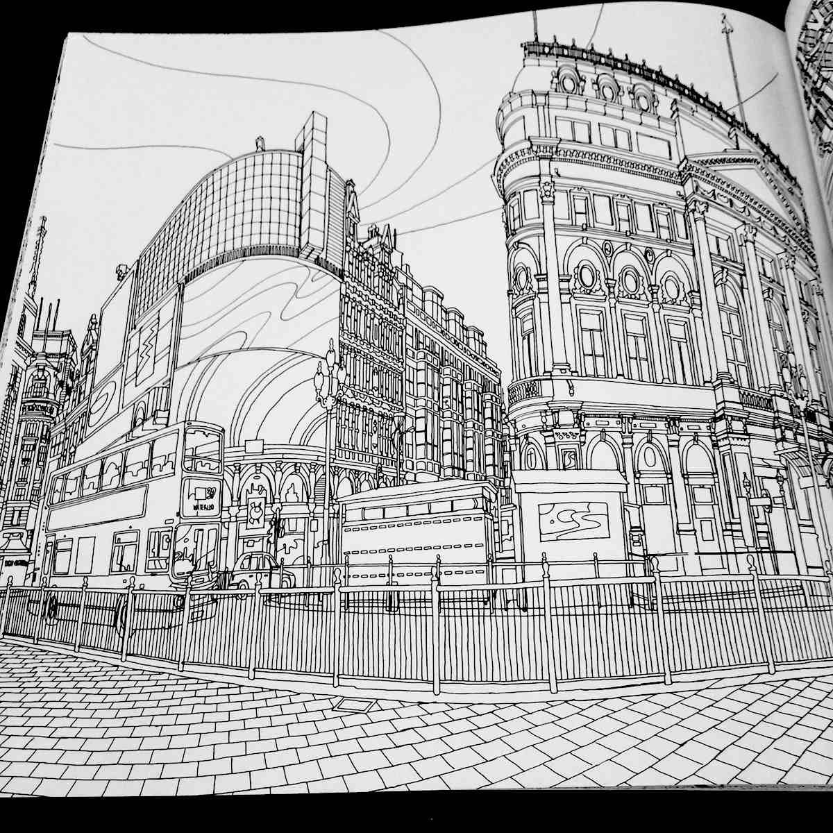 Spend A Summer Afternoon With A Fantastic Cities Coloring