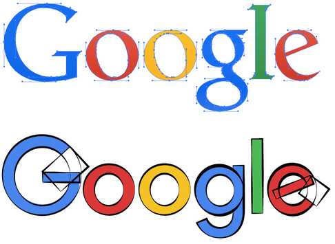 How Google's latest redesign shrank its logo from 2,145 bytes to only 305