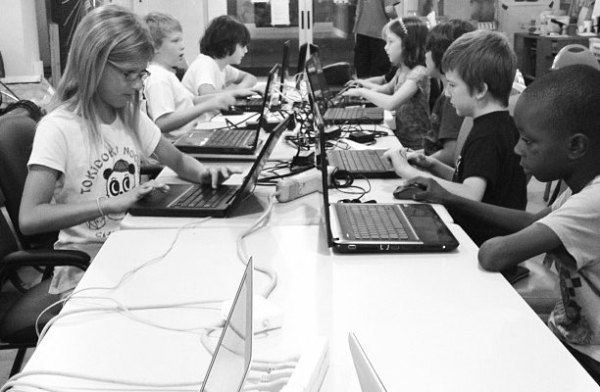 Camp Minecraft. The goal: Bring it to more kids whose families can't pay.