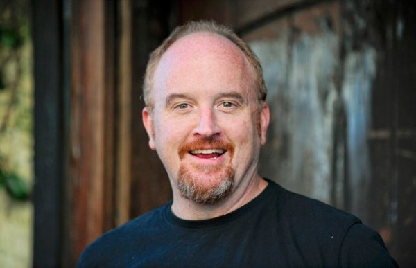 The comedian Louis C.K., photo via Reuters.