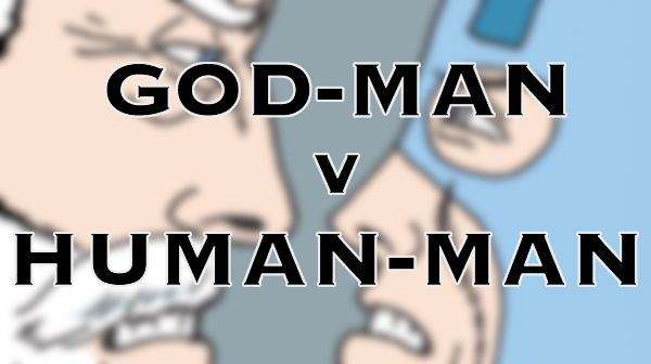 Tom the Dancing Bug 1284 god-man v human-man