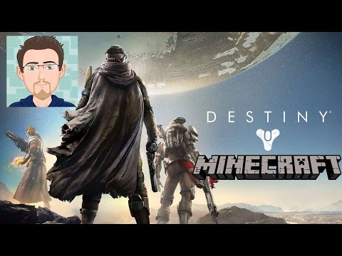 Recursive video gaming: Destiny in Minecraft