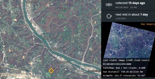 satellite images