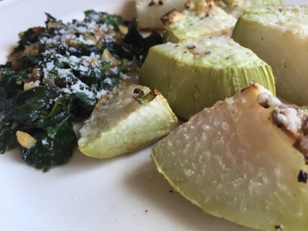 Dandelion Greens & Kohlrabi