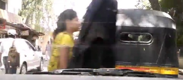 One minute of dashcam footage in Mumbai