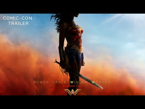 Check out the new Wonder Woman trailer