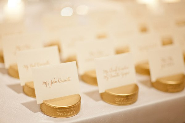 gold-puck-escort-cards
