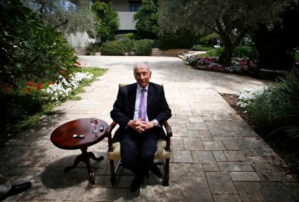 Shimon Peres, 2014 REUTERS
