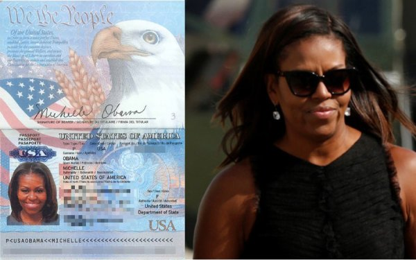 michelleobamapassport