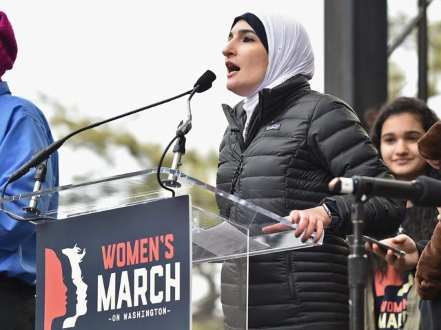 Linda Sarsour Women's March (Theo Wargo / Getty)